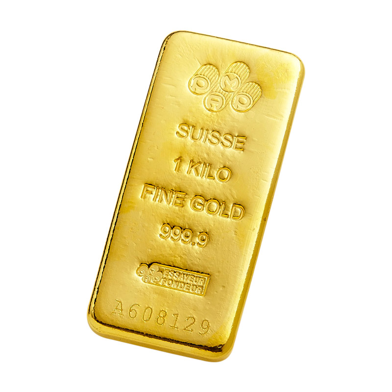 Pamp 1kg Gold Bar City Gold Bullion