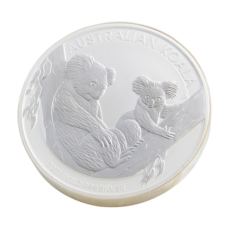 1kg Silver Coin City Gold Bullion